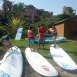cursos de padlle surf estepona